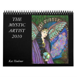 Calendário O artista místico 2010