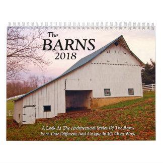 Calendário O Barnes 2018