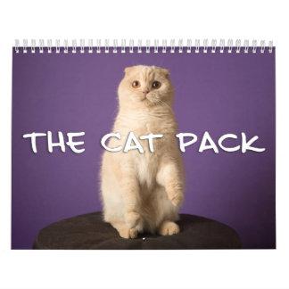 Calendário O bloco do gato