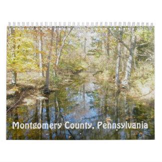 Calendário - o Condado de Montgomery Pensilvânia