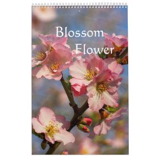 Calendário O pêssego e a cereja de florescência calendar 2018