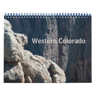 Calendário ocidental da foto de Colorado