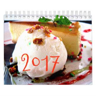 Calendário Os doces calendar 2017