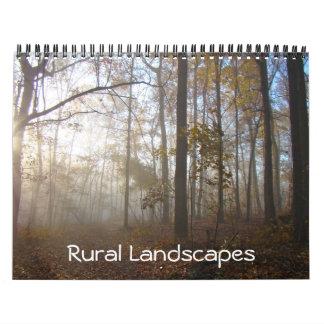 Calendário - paisagens rurais