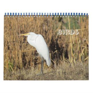 Calendário Calendário - pássaros por o ano novo