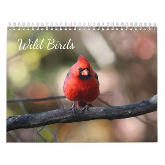 Calendário Pássaros selvagens