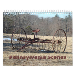 Calendário - Pensilvânia cénico