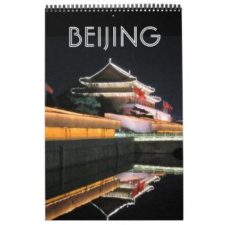 Calendário porcelana de beijing