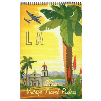 Calendário Posteres de viagens do International da ilustração