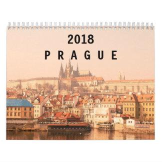 Calendário Praga 2018