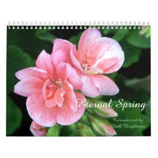 Calendário Primavera eterno