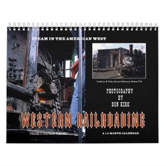 Calendário Railroading ocidental
