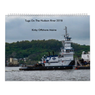 Calendário Reboquees no Rio Hudson---Kirby no mar 2018
