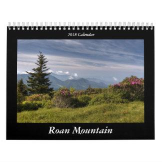 Calendário Roan da montanha 2018