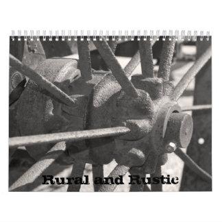 Calendário Rural e rústico