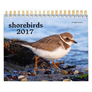 Calendário Shorebirds 2017