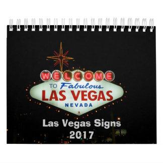 Calendário Sinais de néon de Las Vegas