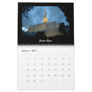 Calendário Templos 2017 de LDS