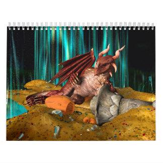 Calendário Tesouro do dragão