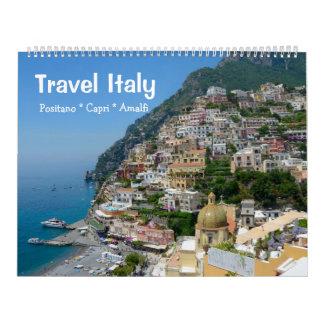 Calendário um viagem Italia de 12 meses