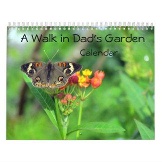Calendário Uma caminhada no jardim do pai - edição do encore