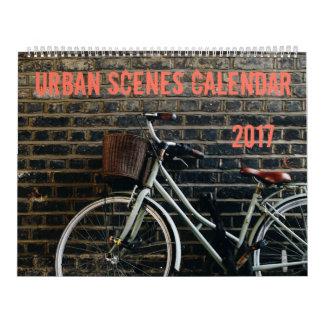 Calendário urbano das cenas