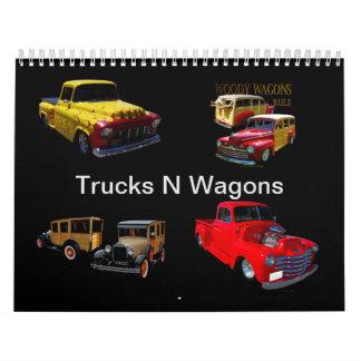 Calendário Vagões dos caminhões N
