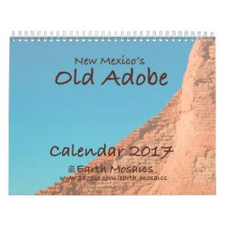 Calendário velho 2017 de Adobe