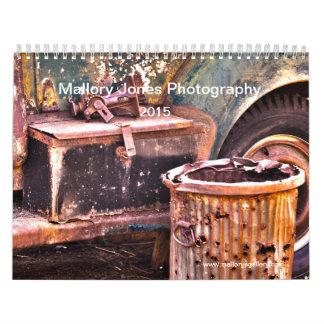 Calendário velho oxidado de HDR dos caminhões