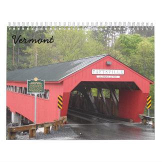 Calendário Vermont 2018