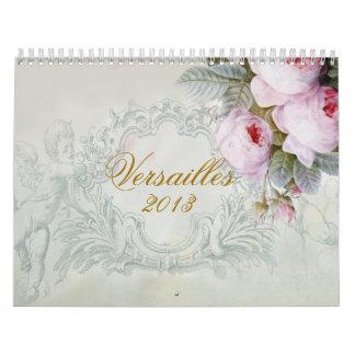 Calendário Versalhes