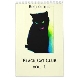 Calendário Vol. 1 do clube do gato preto
