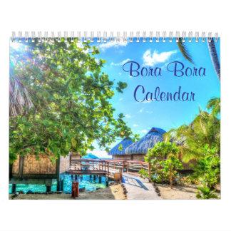 Calendários de parede de Bora Bora