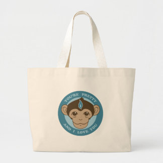 Cálice da mente do macaco bolsas de lona