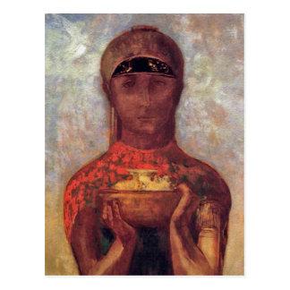 Cálice do mistério - arte espiritual por Odilon Cartão Postal