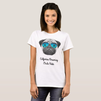 Califorina que sonha Chula Vista Camiseta