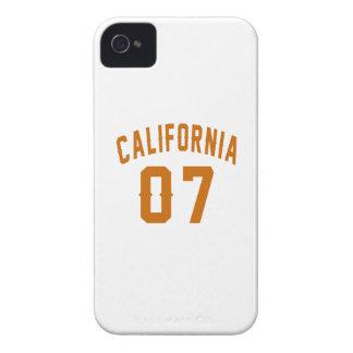 Califórnia 07 designs do aniversário capa para iPhone 4 Case-Mate