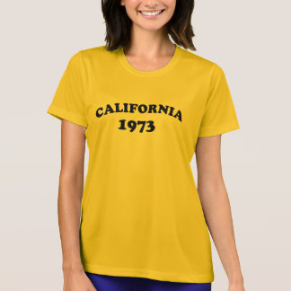 Califórnia 1973 camiseta