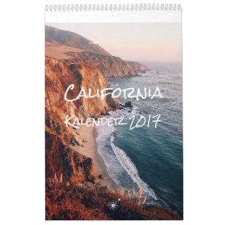 California calendário 2017