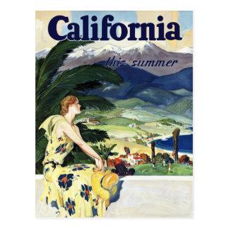 Califórnia este verão cartão postal