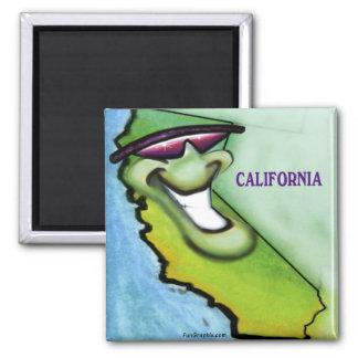 Califórnia Ímã Quadrado