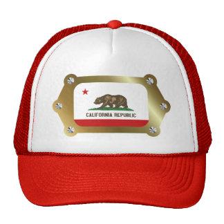 Califórnia moldou o chapéu da bandeira boné