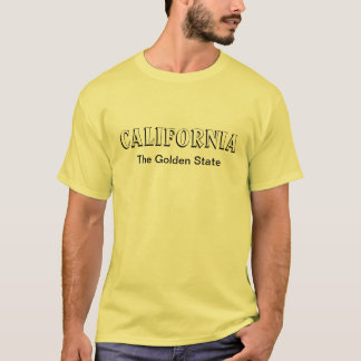 Califórnia o Golden State Camiseta