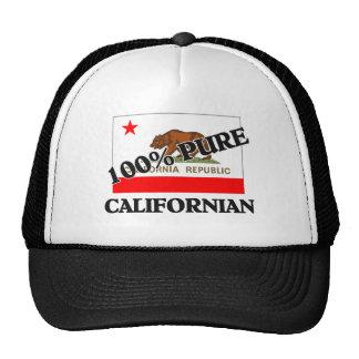 Californiano de 100 por cento boné