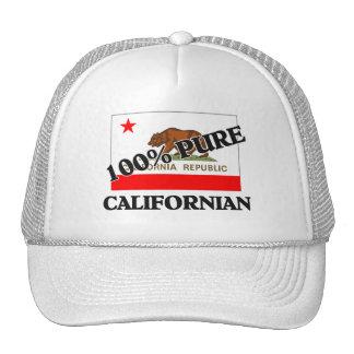 Californiano de 100 por cento bones