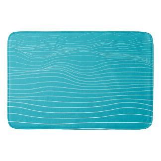 cama do oceano - tapete de banho