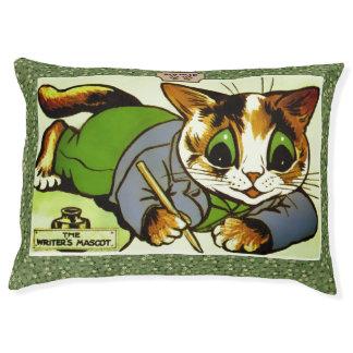 Cama Para Animais De Estimação Arte do escritor do gato de Louis Wain do vintage