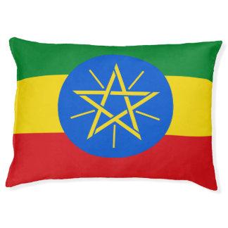 Cama Para Animais De Estimação Bandeira de Etiópia
