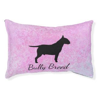 Cama Para Animais De Estimação Cão interno do cão da raça da intimidação do rosa