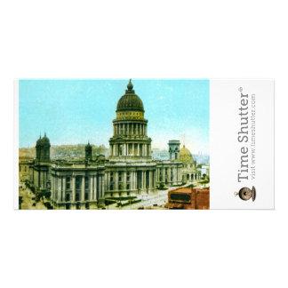 Câmara municipal 1906 cartão com fotos